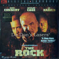 The Rock DTS THX WS Rare LaserDisc Connery Cage Harris Action
