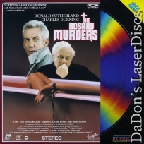 The Rosary Murders LaserDisc Sutherland Durning Thriller *CLEARANCE*