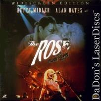The Rose WS DSS 1979 Rare LaserDisc NEW LD Midler Janis Joplin Life Music Drama
