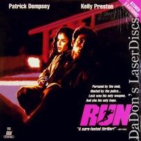 Run Mega-Rare Laser Disc LaserDisc Dempsey Preston Action
