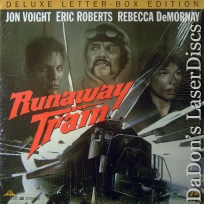 Runaway Train WS Rare LaserDisc Voight Roberts DeMornay