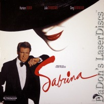 Sabrina 1998 AC-3 WS NEW LaserDisc Ford Ormond Comedy