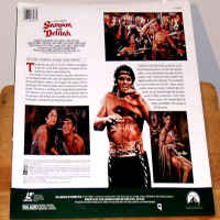 Samson and Delilah 1949 Rare LaserDisc Lemarr Mature Drama *CLEARANCE*