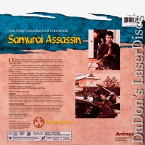 Samurai Assassin Widescreen Collector\'s Edition LaserDisc Foreign Action