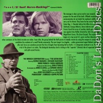 The Satan Bug WS Mega-Rare LaserDisc Maharis Basehart Francis Sci-Fi Thriller