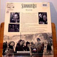 Schindler\'s List WS THX Rare NEW LaserDisc Liam Neeson Ben Kingsley Horror