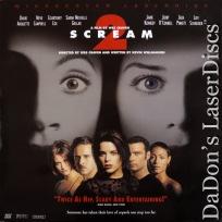 Scream 2 AC-3 WS LaserDisc Campbell Arquette Cox Gellar Horror
