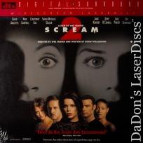 Scream 2 DTS WS LaserDisc Arquette Campbell Cox Horror