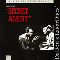 Secret Agent Criterion #23 NEW LaserDisc Young Carroll