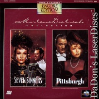Seven Sinners / Pittsburgh Encore Double Rare LaserDisc