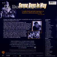 Seven Days in May Rare LaserDisc
