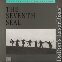 The Seventh Seal Criterion #10 CAV Rare LaserDisc