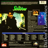 The Shadow DTS Widescreen NEW Rare LaserDisc Action