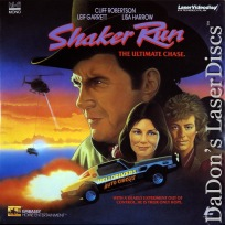 Shaker Run Rare NEW LaserDisc Robertson Garrett Action