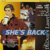 She\'s Back LaserDisc Fisher Joy Cowles Comedy NEW *CLEARANCE*