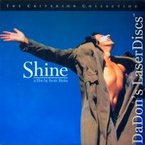 Shine AC-3 WS RM Criterion #335 Rare LaserDisc Rush Stall Noah Biography Drama