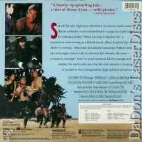 Shipwrecked NEW Rare Disney LaserDisc Byrne Smestad Adventure *CLEARANCE*
