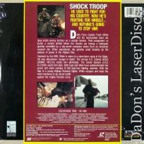 Shock Troop LaserDisc Aiello Alzado Action *CLEARANCE*