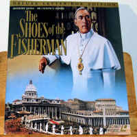 The Shoes of the Fisherman DSS Widescreen LaserDisc Olivier Drama