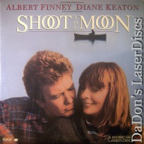 Shoot the Moon Rare LaserDisc NEW LD Finney Keaton Drama