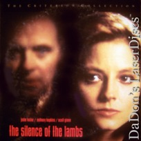 Silence of the Lambs THX WS CAV NEW Criterion LaserDisc 192 Thriller