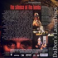 Silence of the Lambs THX WS CAV NEW Criterion LaserDisc 192 Thriller
