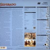 Silverado WS Criterion #118A LaserDisc Kline Arquette Western