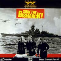 Sink the Bismarck WS Rare LaserDisc More Wynter WAR