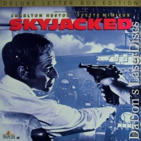 Skyjacked WS Rare LaserDisc Heston Mimieux Airplane