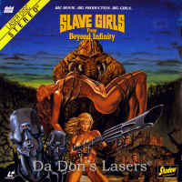 Slave Girls From Beyond Infinity Rare Shadow LaserDisc Sci-Fi