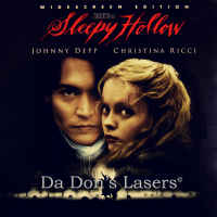 Sleepy Hollow WS NEW Mega-Rare LaserDisc Depp Ricci