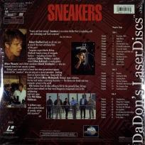 Sneakers +CAV WS NEW LaserDisc Redford Aykroyd Comedy