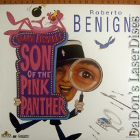 Son of the Pink Panther Widescreen NEW LaserDisc Benigni Comedy