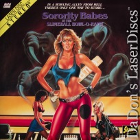 Sorority Babes in the Slimeball Bowl-O-Rama Shadow LaserDisc Sci-Fi