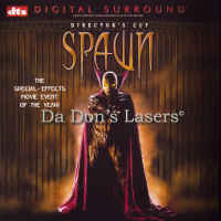 Spawn DTS WS Rare LaserDisc Dir-Cut Leguizamo White Sheen Action