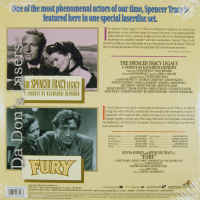 The Spencer Tracy Legacy / Fury NEW Double Feature LaserDiscs Documentary