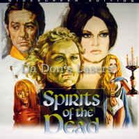 Spirits of the Dead WS Rare LaserDisc Bardot Fonda Horror Corrected Version