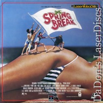 Spring Break LaserDisc NEW Lang Knell Streit Comedy