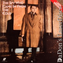 The Spy Who Came In From The Cold LaserDisc Burton