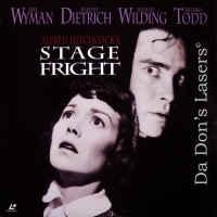 Stage Fright 1950 Vintage LaserDisc Hitchcock Dietrich Thriller