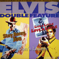 Stay Away Joe / Live A Little Love A Little Elvis WS LaserDisc