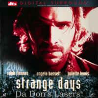 Strange Days DTS WS Rare LaserDisc Fiennes Bassett Sci-Fi
