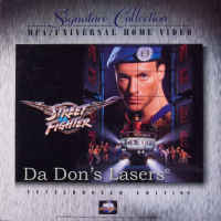 Street Fighter WS LaserDisc Signature Collection Julia Action
