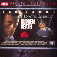 Sudden Death DTS WS Rare LaserDisc LD Van Damme Action