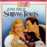 Sullivan\'s Travels Rare LaserDisc Lake McCrea Comedy