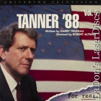 Tanner \'88 vol. 1 Criterion NEW LaserDisc Murphy Reed Comedy