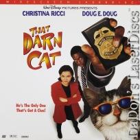 That Darn Cat 1997 LaserDisc AC-3 WS Rare LD Ricci Doug Disney Comedy