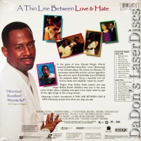 A Thin Line Between Love & Hate AC-3 WS NEW LaserDisc Playboy Comedy