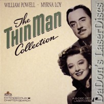 The Thin Man Collection LaserDisc Box Loy Powell Spy