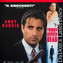 Things to Do in Denver When You\'re Dead AC-3 THX WS LaserDisc Crime Drama